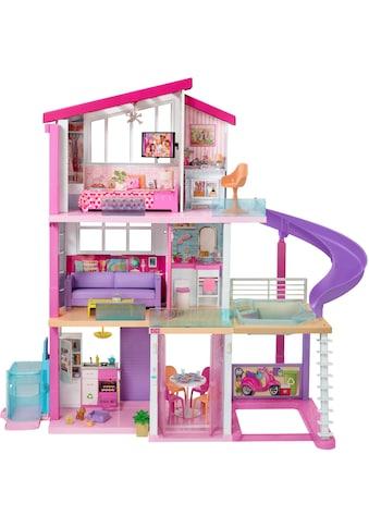 Barbie Puppenhaus »Traumvilla mit Pool, Rutsche und Aufzug«, mit Licht- und Soundeffekten kaufen