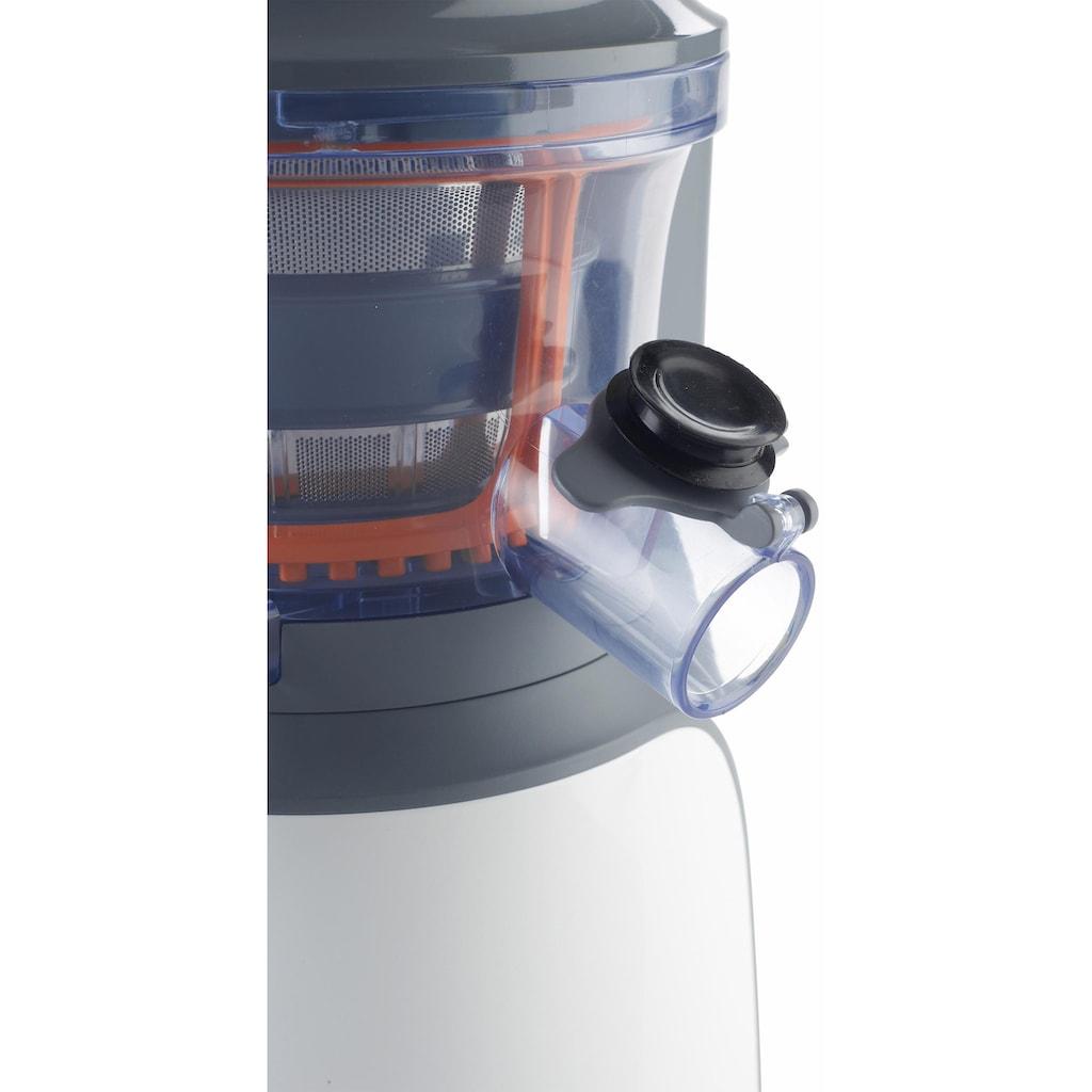 KENWOOD Slow Juicer »Slow Juicer JMP 600 WH«, 150 W, 1,3 l Tresterbehälter