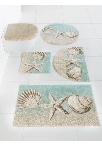Badgarnitur mit Strand - Motiv kaufen