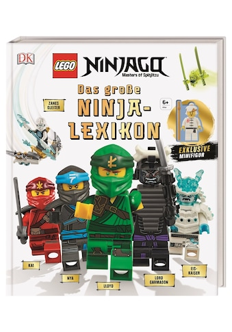 Buch »LEGO® NINJAGO® Das große Ninja-Lexikon / Arie Kaplan, Hannah Dolan« kaufen