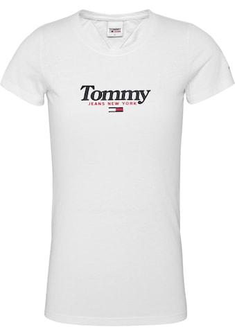 TOMMY JEANS Rundhalsshirt »TJW ESSENTIAL LOGO TEE« kaufen