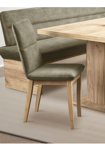 Premium collection by Home affaire 4-Fußstuhl »Beluna«, Gestell und Beine aus Eiche... kaufen