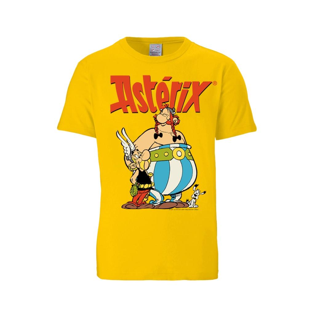 LOGOSHIRT T-Shirt mit Asterix & Obelix-Print
