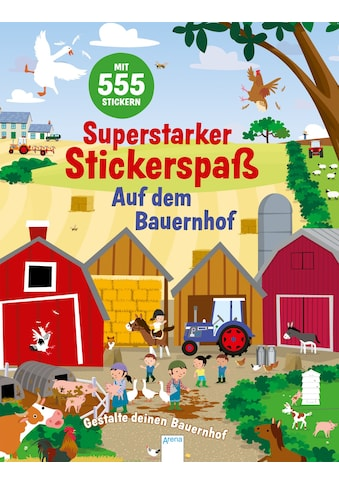 Buch »Superstarker Stickerspaß. Auf dem Bauernhof / Joshua George, Dan Crisp, Judith... kaufen