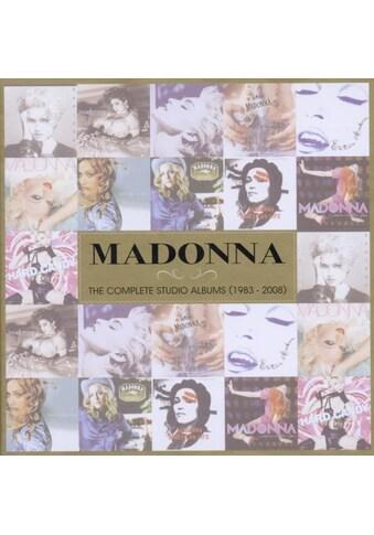 Musik-CD »Complete Studio Albums (1983-2008),The / Madonna« kaufen