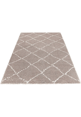 MINT RUGS Hochflor-Teppich »Hash«, rechteckig, 35 mm Höhe, Scandi Look, Wohnzimmer kaufen