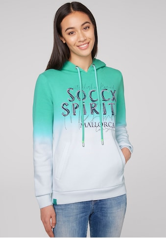 SOCCX Kapuzensweatshirt, mit Wording Print kaufen