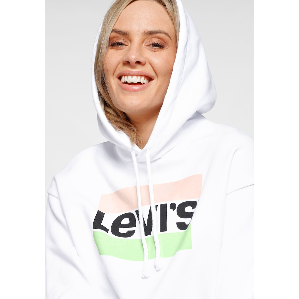 Levi's® Hoodie »Graphic Standard«, mit Logo- Druck im Blockstreifen Design