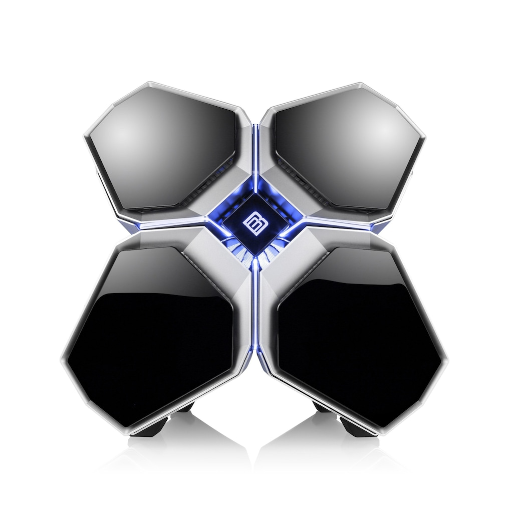 BoostBoxx Gaming-Gehäuse »BoostBoxx Quadstellar«