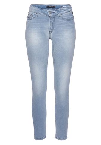 Replay Slim-fit-Jeans »Faaby«, Power Stretch mit Used-Effekten kaufen