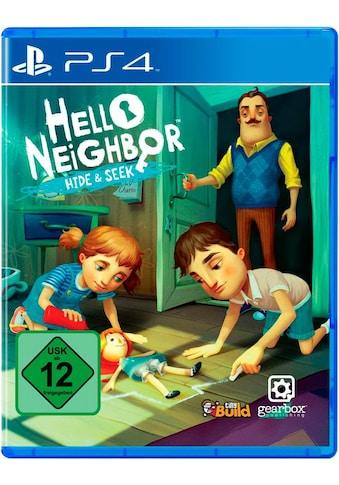 U&I Entertainment Spiel »Hello Neighbor Hide & Seek«, PlayStation 4 kaufen