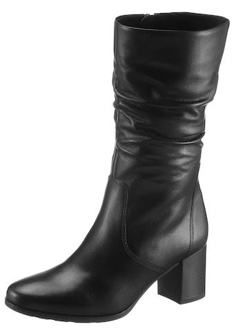 Gabor Stiefel »NIZZA«, mit Raffungen am Schaft kaufen