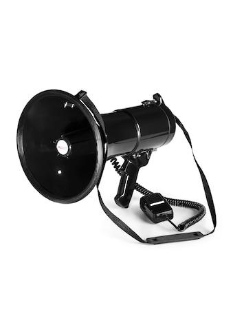 Auna MEGA080 Megaphon 80W | Reichweite 700m | wasserfest | Trage kaufen