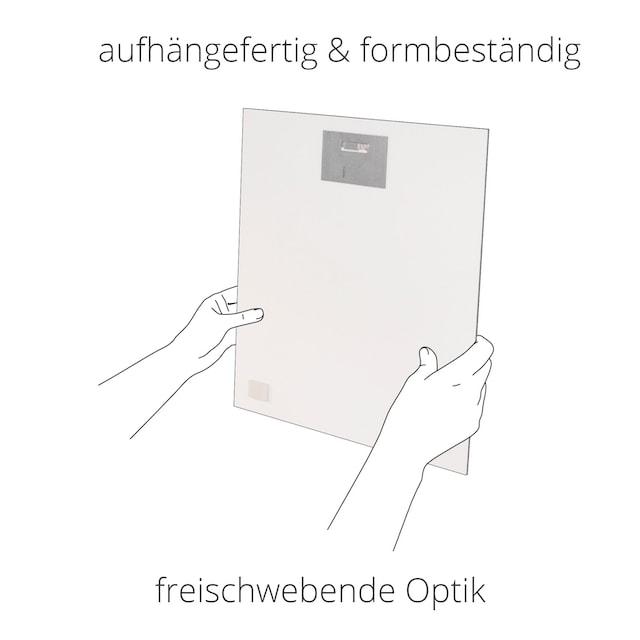 Artland Wandbild »Fensterblick Bayerischen Alpen«