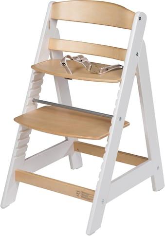 roba® Hochstuhl »Treppenhochstuhl Sit Up III, natur/weiß«, aus Holz kaufen