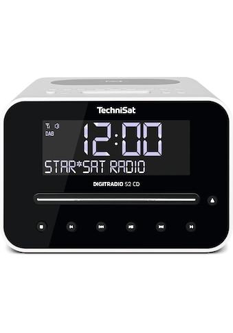 TechniSat DAB+/UKW - Radiowecker mit CD - Player, Wireless - Charging - Funktion »DIGITRADIO 52 CD« kaufen