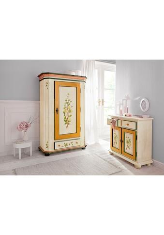 Home affaire Kleiderschrank »Zitrone«, mit schönem handgemalten Zitronengemälde, Breite 108 cm kaufen