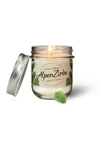 Zirbelino Duftkerze, handgefertigt aus zertifiziertem Bio-Zirbenöl - Made in Austria kaufen