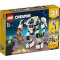 LEGO® Konstruktionsspielsteine »Weltraum-Mech (31115), LEGO® Creator 3in1«, (327 St.), Made in Europe