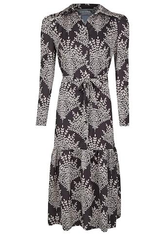 Nicowa Blusenkleid mit Bindegürtel - NIRVANO kaufen
