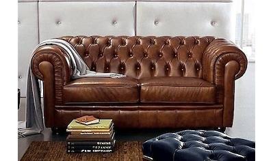 Max Winzer® 2-Sitzer »Kent«, im Retrolook, mit edler Knopfheftung kaufen