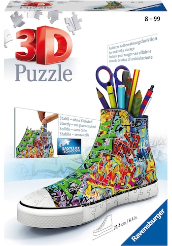 Ravensburger 3D-Puzzle »Sneaker Graffiti Style«, Made in Europe, FSC® - schützt Wald -... kaufen