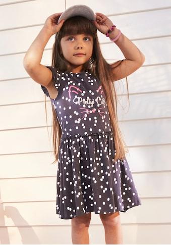 KIDSWORLD Jerseykleid, mit niedlichen Flügelärmeln kaufen