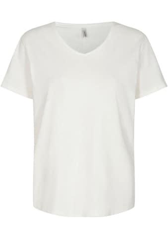 soyaconcept T-Shirt »SC-BABETTE1«, mit Ziernaht am Rücken kaufen