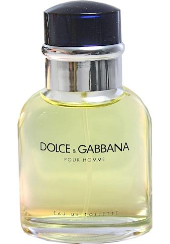 DOLCE & GABBANA Eau de Toilette »Pour Homme« kaufen