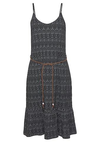 Ragwear A-Linien-Kleid »ENTIE«, (2 tlg., mit abnehmbarem Gürtel), mit romantischem Volant-Abschluss kaufen