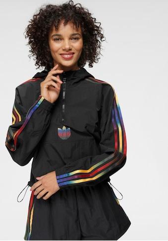 adidas Originals Windbreaker »ADICOLOR HALF-ZIP CROP« kaufen