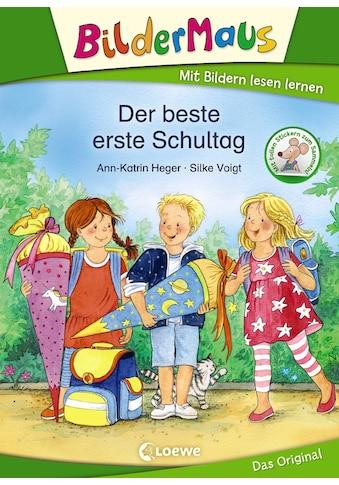 Buch »Bildermaus - Der beste erste Schultag / Ann-Katrin Heger, Silke Voigt« kaufen