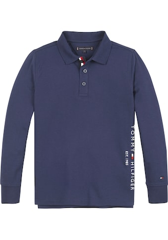 TOMMY HILFIGER Langarm - Poloshirt »ESSENTIAL ESTABLISHED P« kaufen