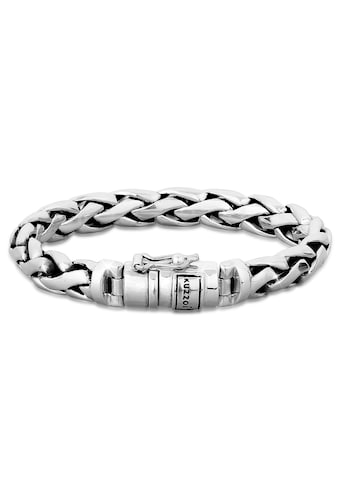 Kuzzoi Armband »Herren Gliederarmband Robust Rund 925 Silber« kaufen
