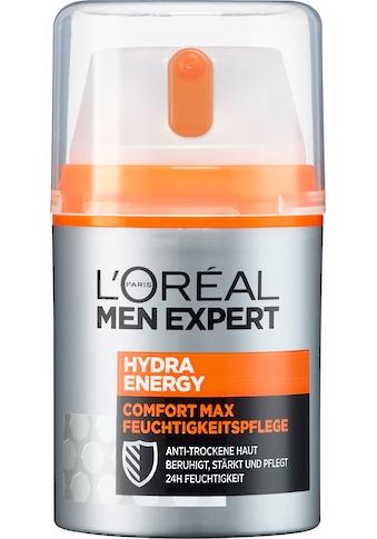 L'ORÉAL PARIS MEN EXPERT Feuchtigkeitscreme »Hydra Energy Comfort Max«,... kaufen