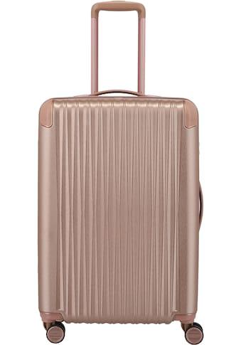 TITAN® Hartschalen-Trolley »BARBARA & TITAN®, Barbara Glint 67 cm, Rose Metallic«, 4... kaufen