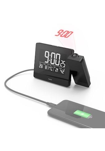 Hama Projektionswecker Funkwecker Wecker,Uhrzeit,Temperatur kaufen