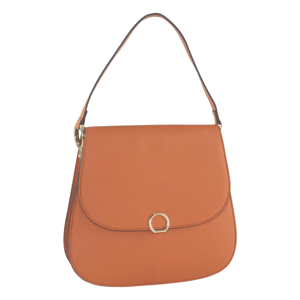Tasche mit schlichter Schließe