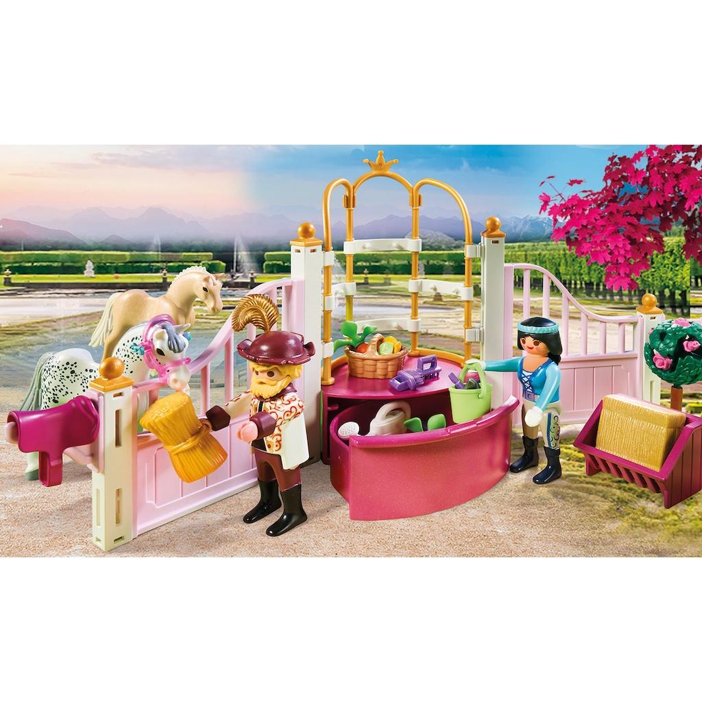 Playmobil® Konstruktions-Spielset »Reitunterricht im Pferdestall (70450), Princess«, (185 St.), Made in Germany