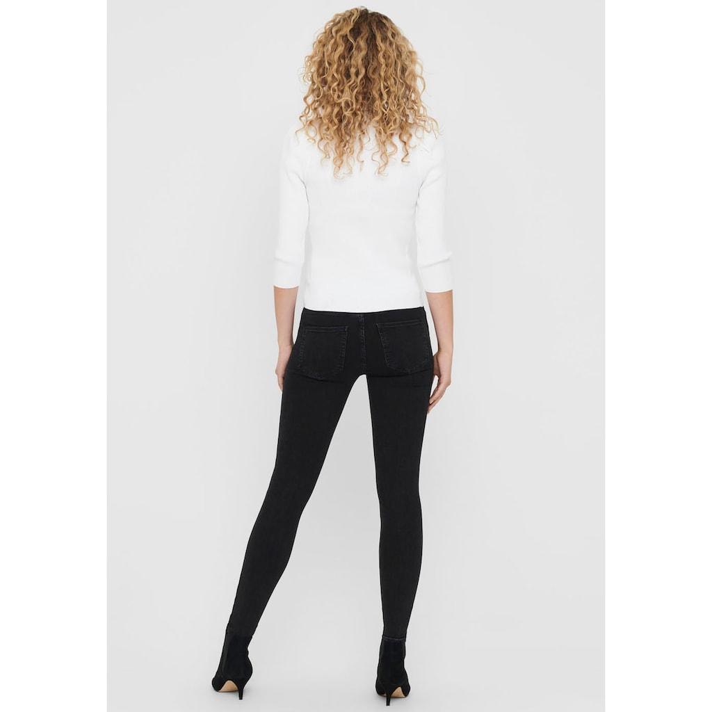 Only Skinny-fit-Jeans »ONLBOBBY«, mit Knopfleiste