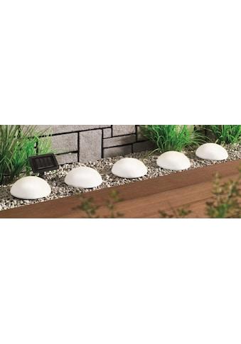 BONETTI,LED Gartenleuchte»Solar Halbkugeln  -  5er - Set«, kaufen