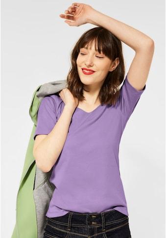 STREET ONE V-Shirt, Basic kaufen