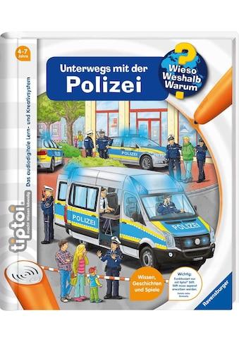 """Ravensburger Buch """"tiptoi® WWW  -  Unterwegs mit der Polizei"""" kaufen"""