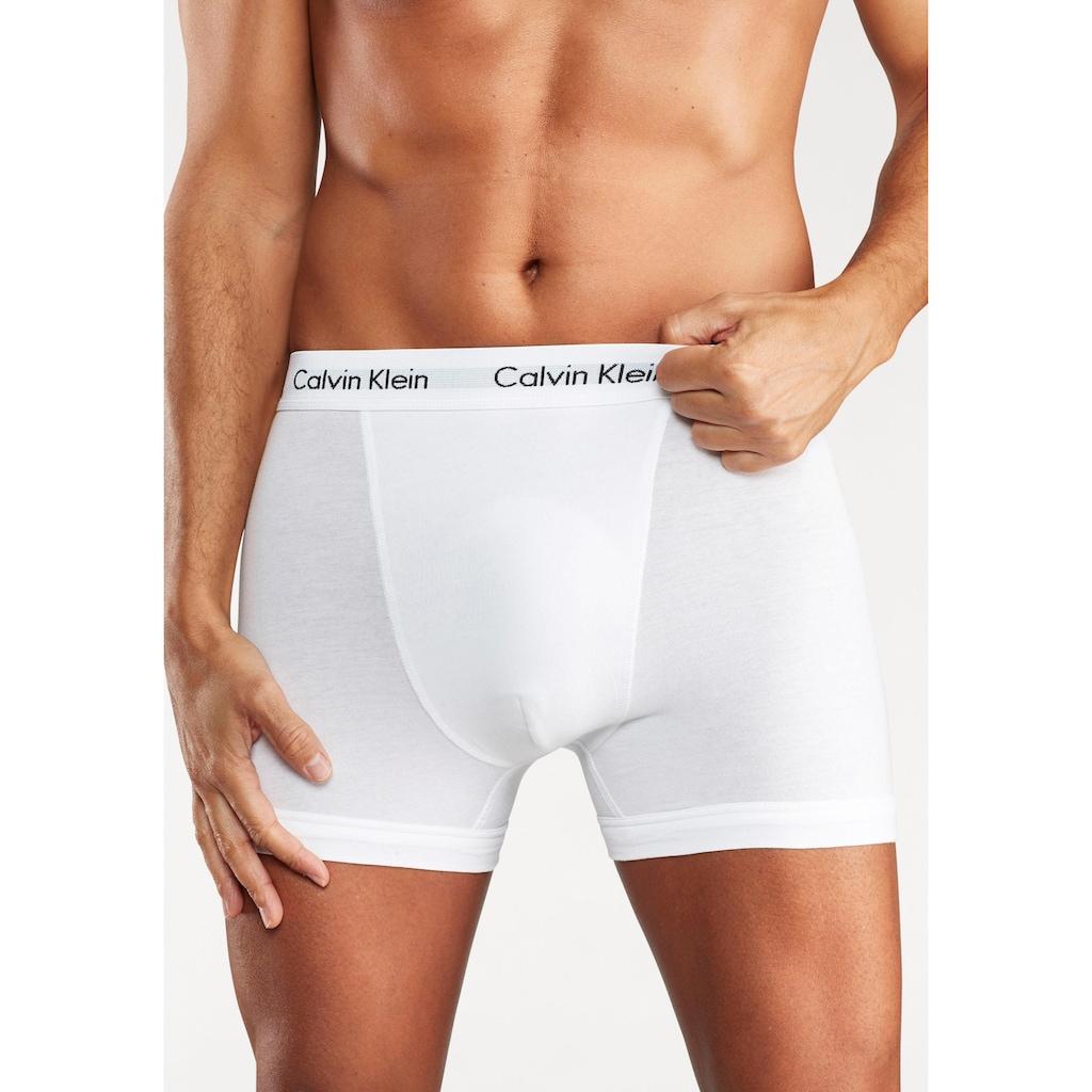 Calvin Klein Boxer, mit Logoschriftzug am Bund