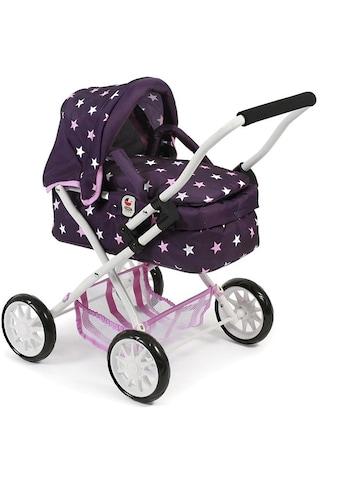 CHIC2000 Puppenwagen »Mini-Kuschelwagen Smarty, Stars lila«, mit herausnehmbarer Tragetasche kaufen