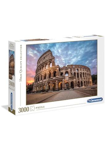 Clementoni® Puzzle »High Quality Collection - Sonnenuntergang über dem Kolosseum«,... kaufen