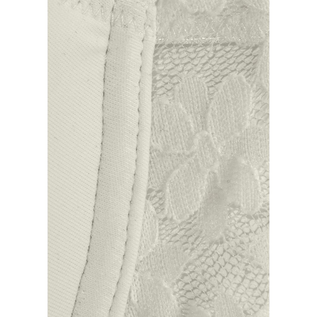 LASCANA Schalen-BH »»perfect basic««, aus blumiger, elastischer Spitze