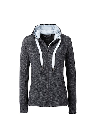 DEPROC Active Kapuzensweatshirt »SWEAT GILFORD MELANGE WOMEN«, aus funktionalem Piqué-Fleece kaufen