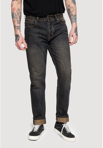 KingKerosin Straight-Jeans »Scott«, Tint Wash kaufen
