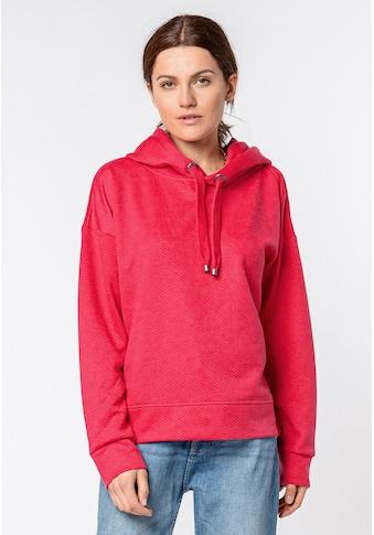SUBLEVEL Kapuzensweatshirt, mit Strukturmuster kaufen